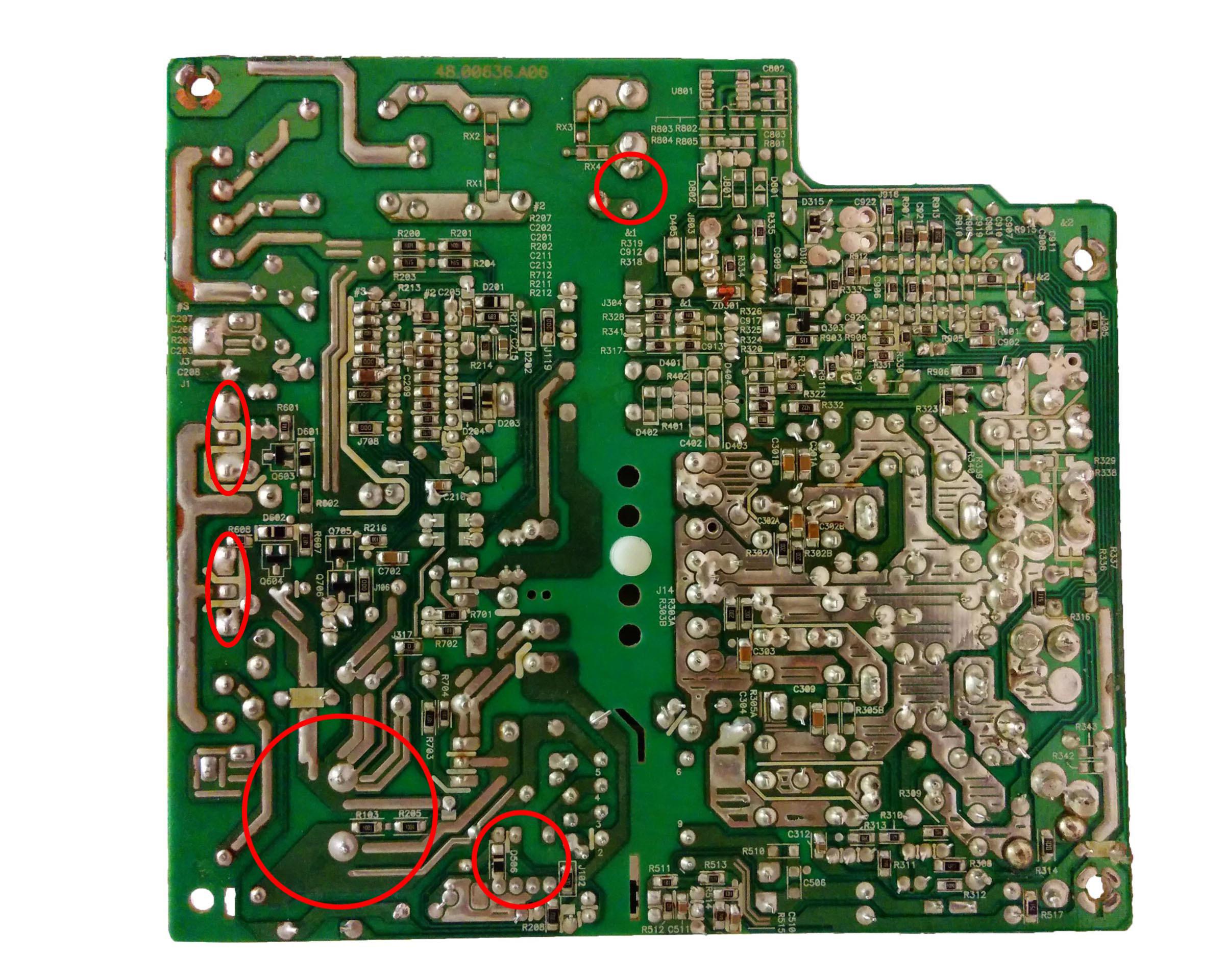 OCZ ModXStream Pro 600W PSU Repair